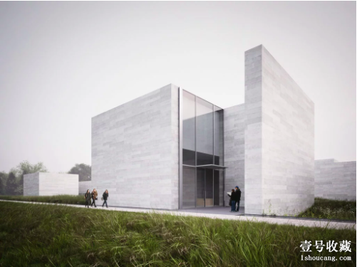 格兰斯通博物馆扩建场馆。图片:Rendering courtesy of Thomas Phifer & Partners and the Glenstone Museum