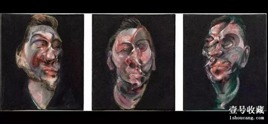 Three Studies for a Portrait of George Dyer, 1963